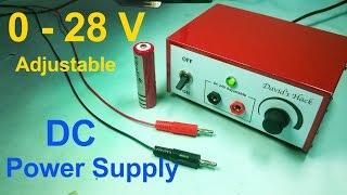 Make Adjustable DC Power Supply in Easiest Way