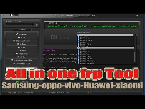 All In One Frp Unlock Tool 2019 | Remove Frp Lock | Oppo | Vivo | Samsung | Xiaomi | Mtk