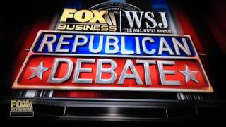 Fox Business - Republican Debate