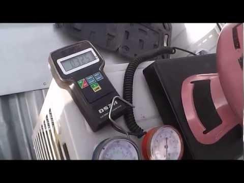 видео: Заправка кондиционера фреоном