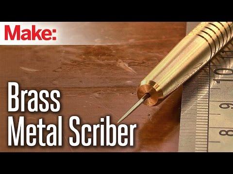 Milling a Metal Scriber