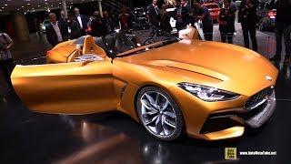 BMW Z4 Concept - Exterior And Interior Walkaround - 2017 Frankfurt Auto Show