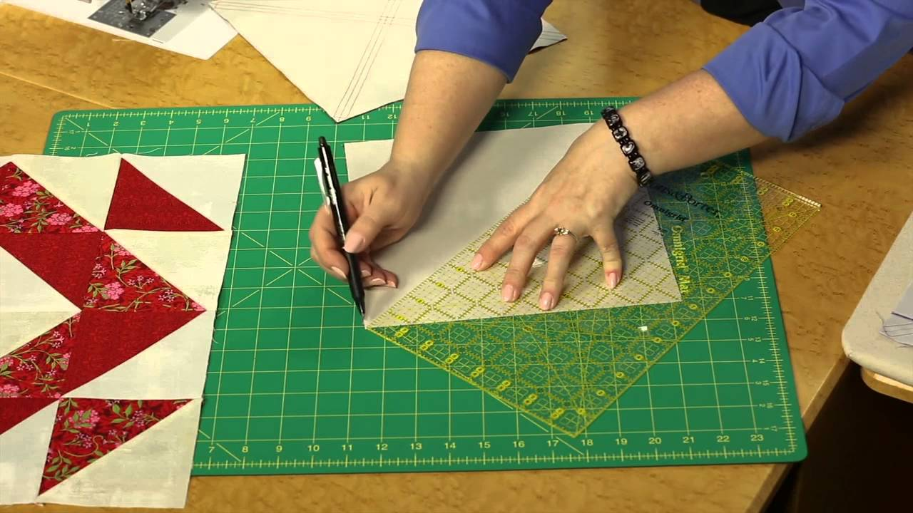 Quilting Quickly: Faceted - Big Block Quilts - YouTube : quilting videos site youtube - Adamdwight.com