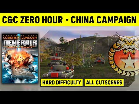 C&C Zero Hour - China Campaign On Hard - Walkthrough No Commentary [1080p]
