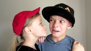 KIDS HILARIOUS REACTION TO GIRLS TRYING TO KISS HIM!