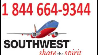 Contact Southwest Airlines +1844 664-9344