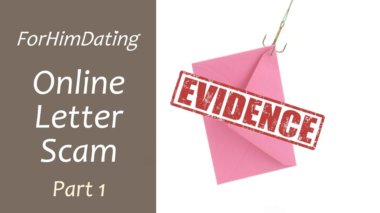 Online dating scam letters