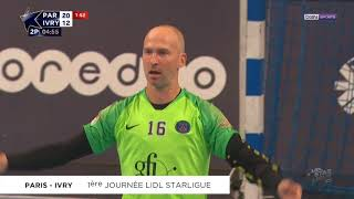Paris facile contre Ivry | J01 Lidl Starligue 18-19