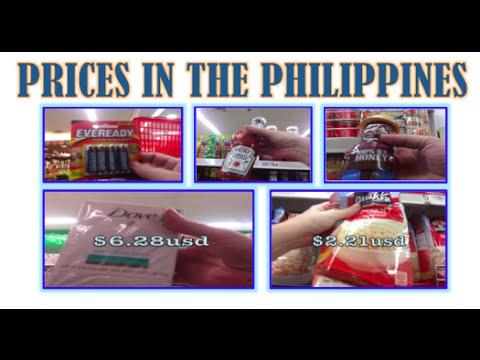 PHILIPPINES SUPERMARKET PRICES IN CEBU CITY – SODA, MILK, WINE, SOAP, BATTERIES, RAZORS AND MORE….
