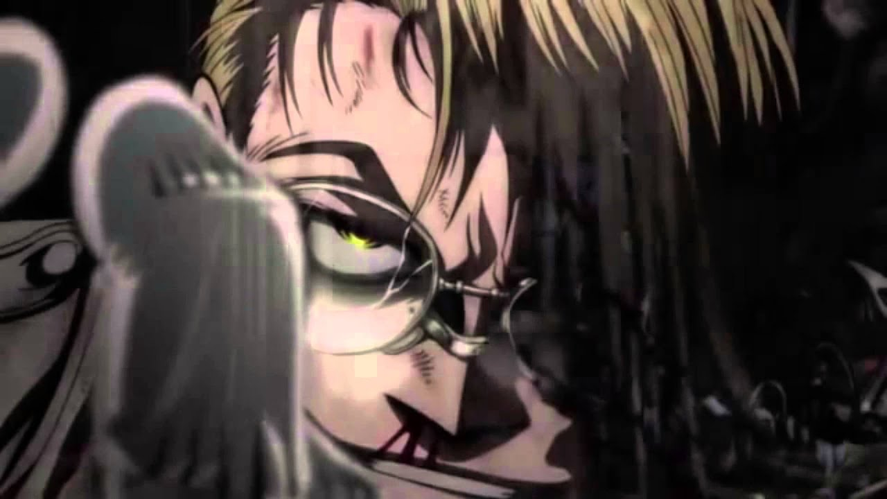 Anime Devil Girl Wallpaper Hellsing Ultimate X The Major S Death English Dub