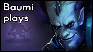 Dota 2 | LATE NIGHT SNEAKING!! | Baumi plays Riki