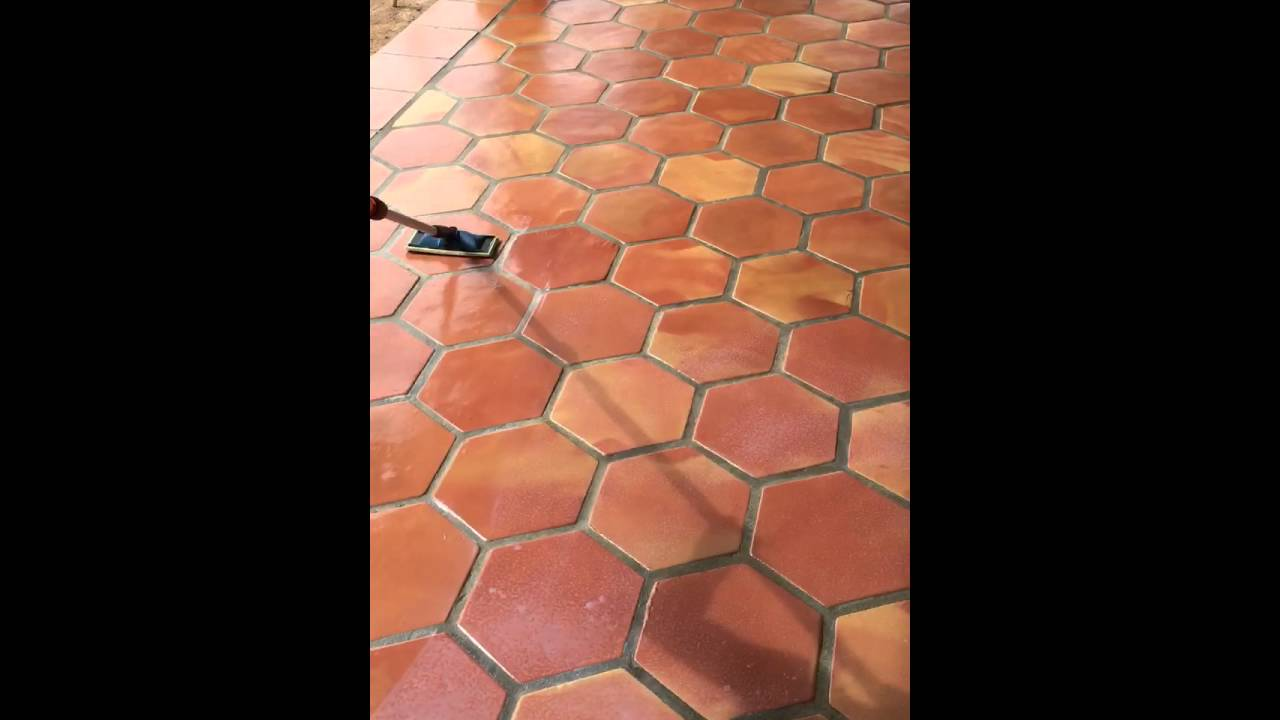 How To Seal Saltillo Tile By Rustico And Stone