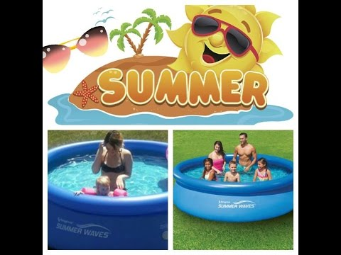 Summer Waves Above Ground Pool Easy Setup Review