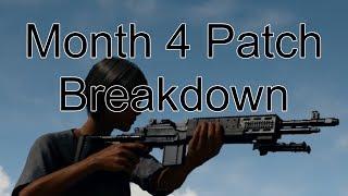 OCD - PUBG Month 4 Patch