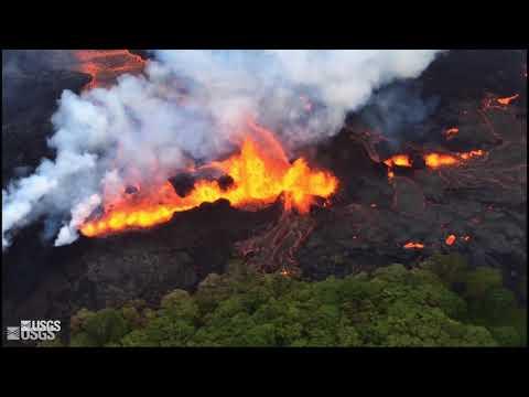 USGS Status Update of Kīlauea Volcano - May 22, 2018