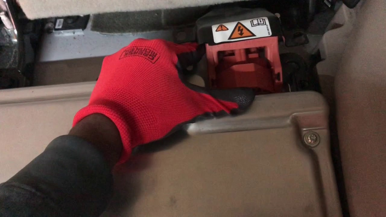 2009 Ford Escape Hybrid Battery Removal Diy