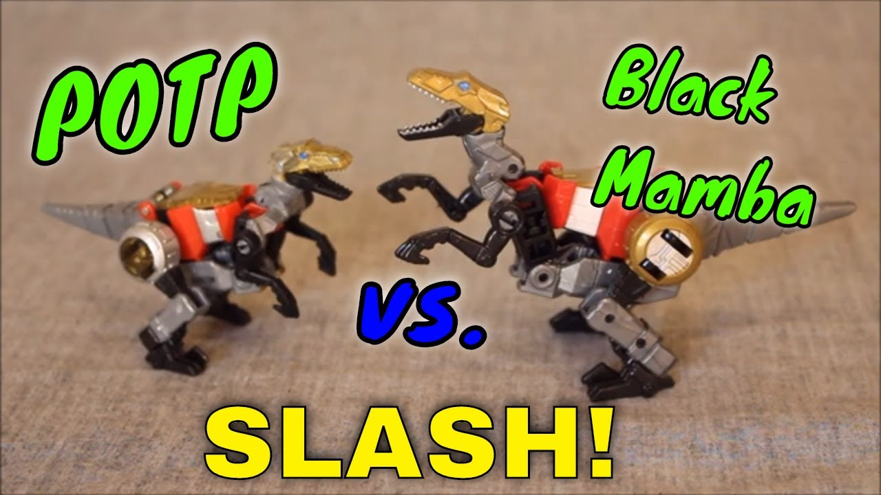 Icing on the Cake: Black Mamba OS KO Dinobot Slash By GotBot