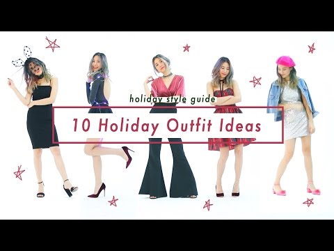 👠Holiday Style Guide | 10 outfit ideas