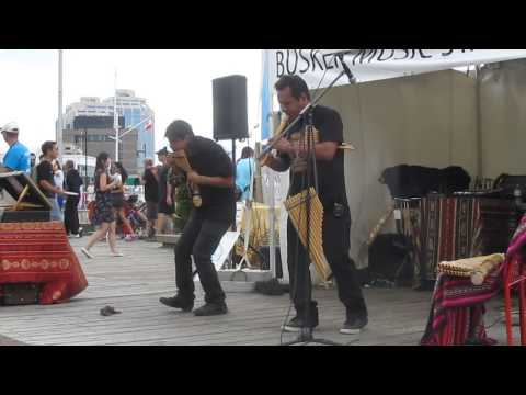 TRIBU @ Halifax International Busker Festival 2013