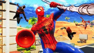 SPIDERMAN HIDE AND SEEK In Fortnite Battle Royale