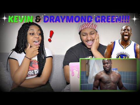 "Kevin Hart + Draymond Green on Kevin Durant to Golden State ""Cold as Balls"" REACTION!!!"