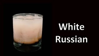 White Russian Cocktail Drink Recipe