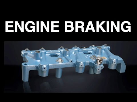 What Is Engine Braking? What Is A Jake Brake? - YouTube