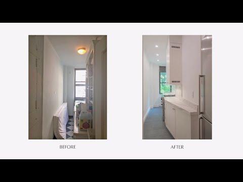 Prewar Jr. 4 Transformation Before & After - W 89th St, NYC