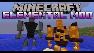 ELEMENTAL BOSSES MOD - Jefes de elementos y Mascotas - Minecraft mod 1.6.4 tutorial en español