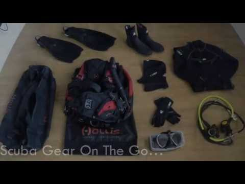 dive-travel-bag-||-scuba-gear-||-hollis-||-whats-in-the-bag?-||-dive-trip-packing-||