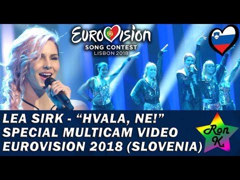 "Lea Sirk - ""Hvala, ne!"" - Special Multicam video - Eurovision 2018 (Slovenia)"