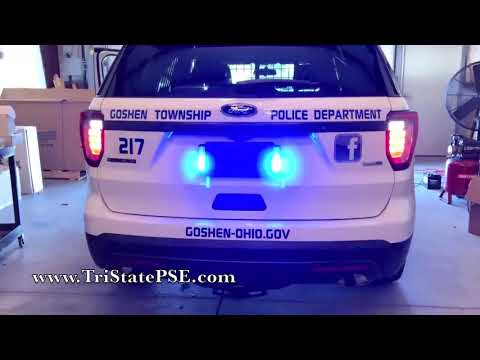 2017 Ford Police Interceptor Utility Tail Light Flasher: (EASY) Upgrade!