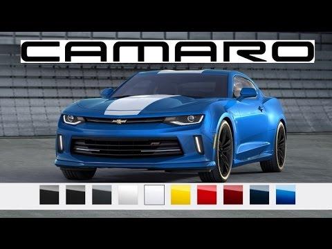 2016 camaro paint colors youtube