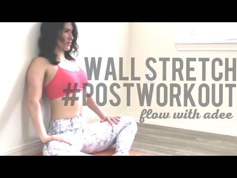 Post Workout Wall Stretch | Follow Along!