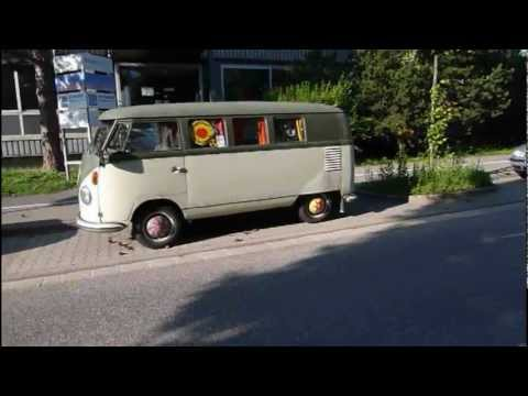 alter vw bus baujahr 1957 youtube. Black Bedroom Furniture Sets. Home Design Ideas