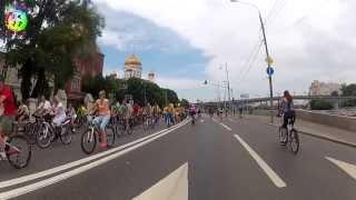 Репортаж о втором московском велопараде