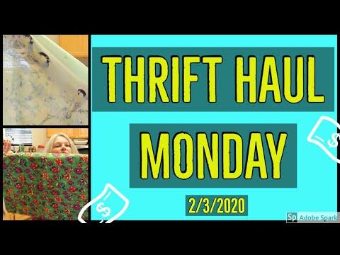 GOODWILL THRIFT HAUL   Thrift Haul Monday   2/3/20 Edition   Goodwill Outlet Bins   SILVER & GOLD?