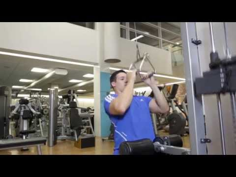 Lat Pulldown With V Bar - Back Exercise