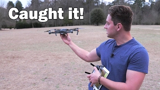 Caught by hand! - DJI Mavic Pro