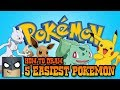 5 Easiest Pokemon Characters to Draw | SUPER SIMPLE Lessons for Beginners