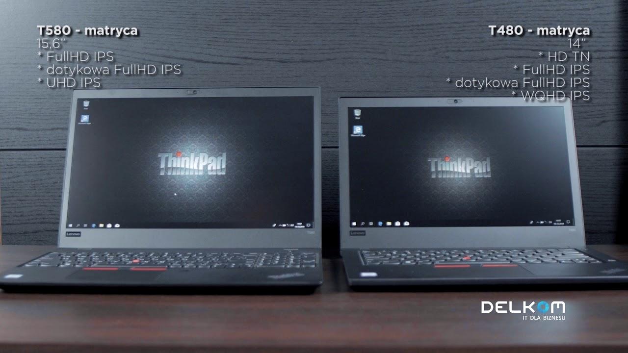 Lenovo ThinkPad T480 & T580
