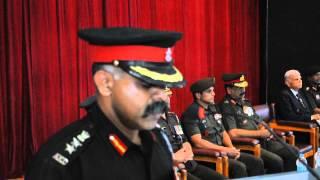 Sainik School Bijapur Silver Trophy  Maj Gen KS Venugopal VSM  intro Col R Balaji 2