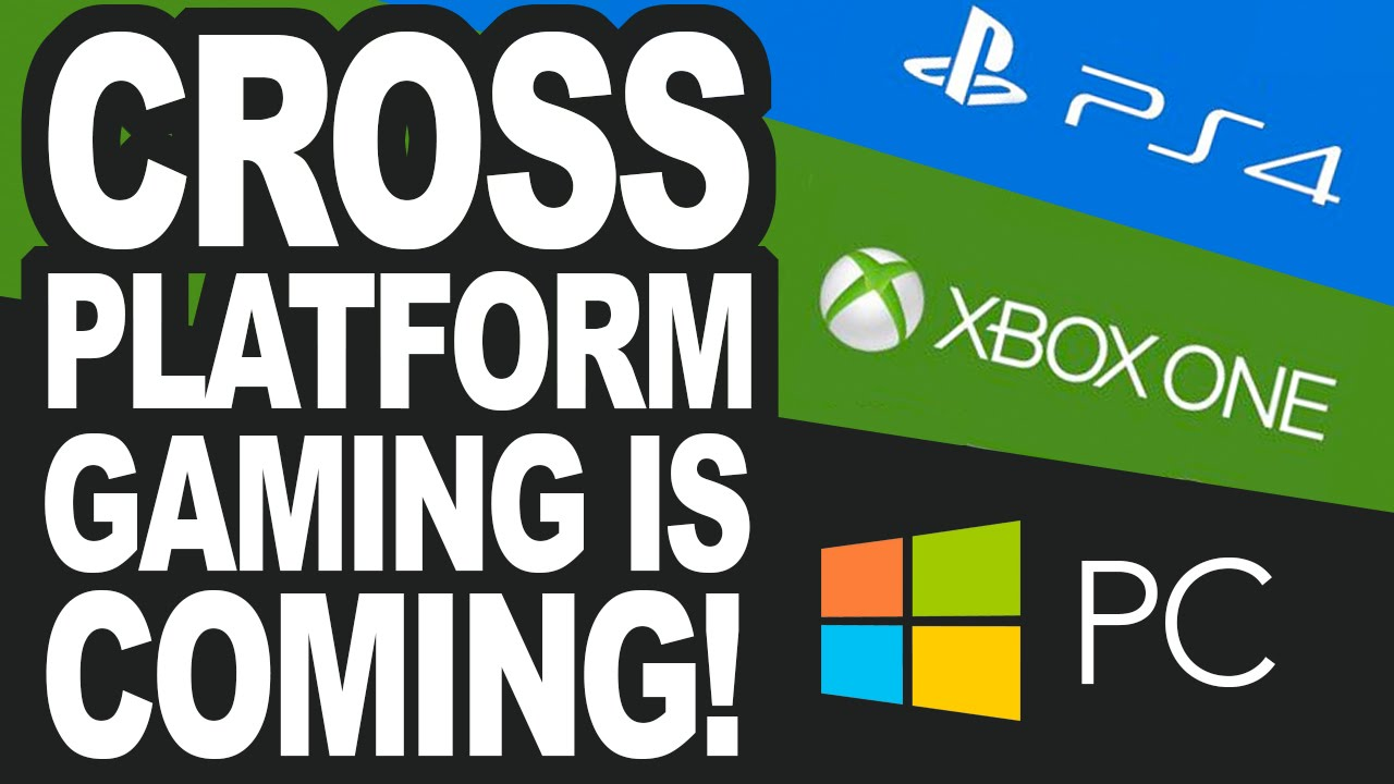 Cross Platform Gaming Is Coming Probably Ps4 Vs Xbox