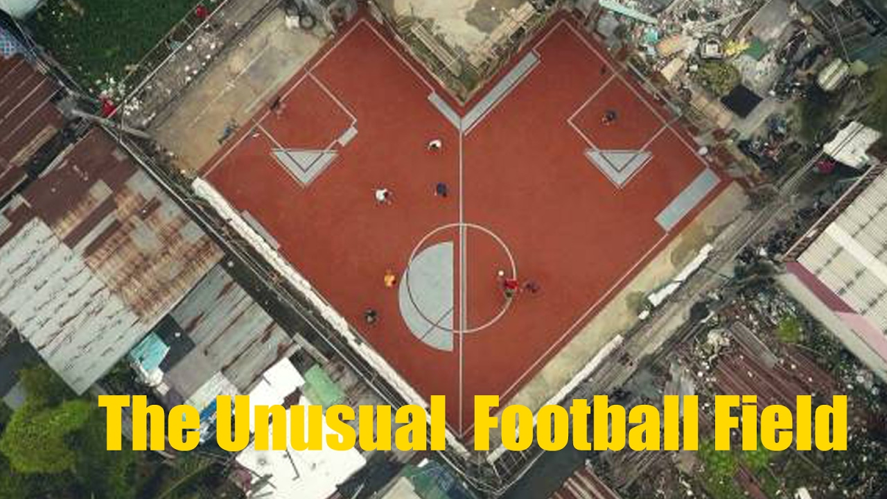 the unusual football field soccer fields that fit anywhere youtube