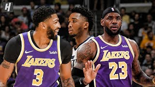 Utah Jazz vs Los Angeles Lakers - Full Game Highlights | October 25, 2019 | 2019-20 NBA Season