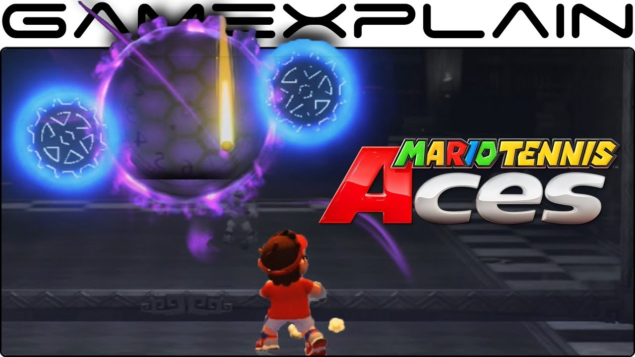 Mario Tennis Aces How To Solve The Mansion S Reflection