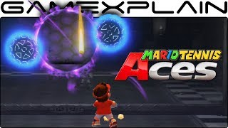 Mario Tennis Aces - How to Solve the Mansion's Reflection Room Puzzle (Guide & Walkthrough)