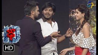 Sudheer | Varshni Funny Task | Dhee 10 | 15th November 2017 | ETV Telugu