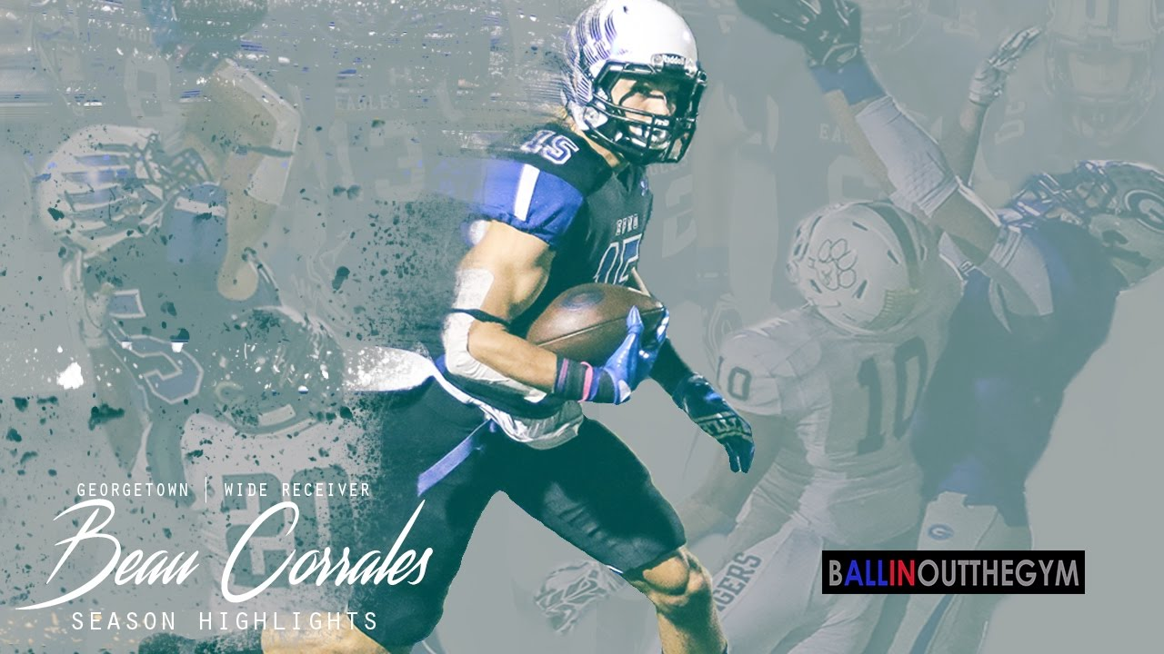 You Don't Know BEAU Corrales: (2016 Georgetown Football Highlights)