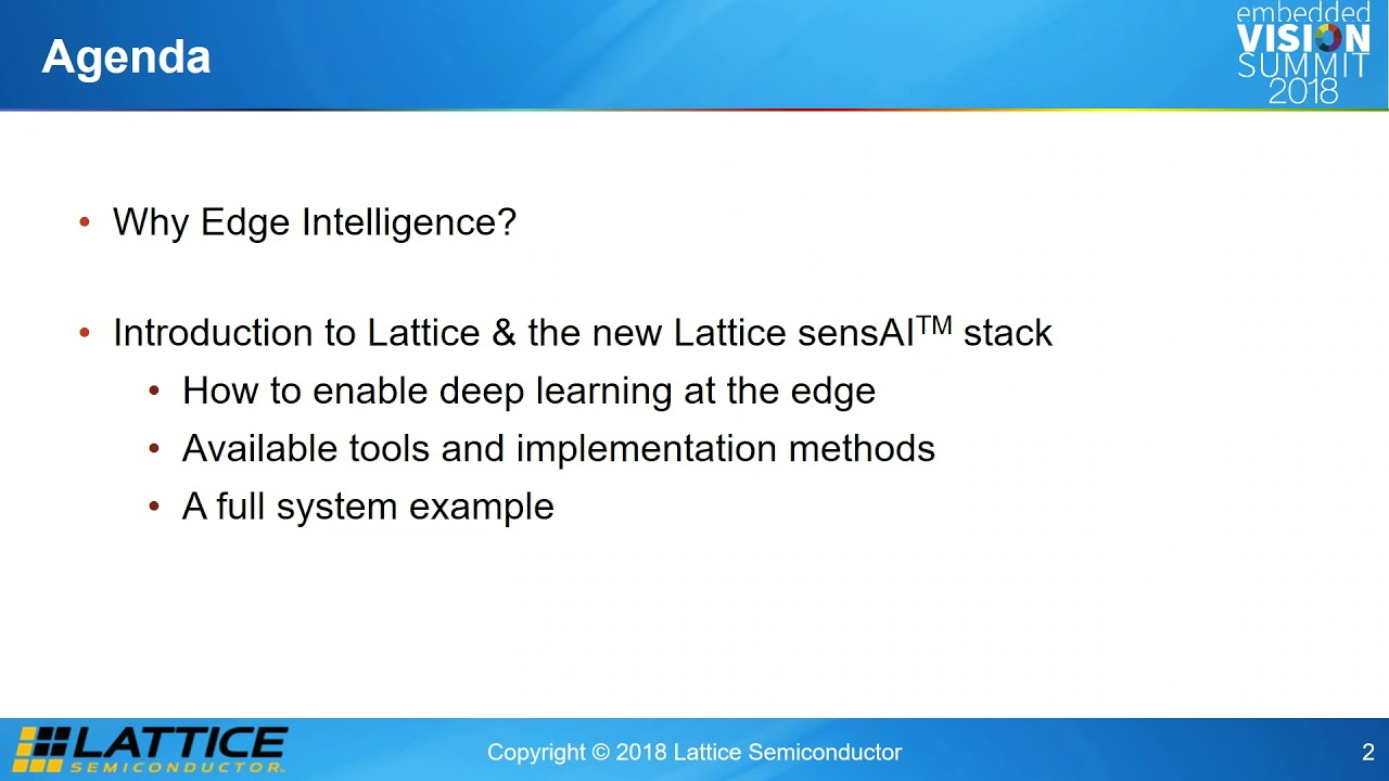 Lattice Semiconductor's Abdullah Raouf Explains Edge Machine Learning  Inference on a FPGA (Preview)